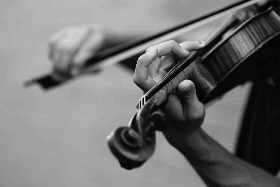 Comment jouer du violon